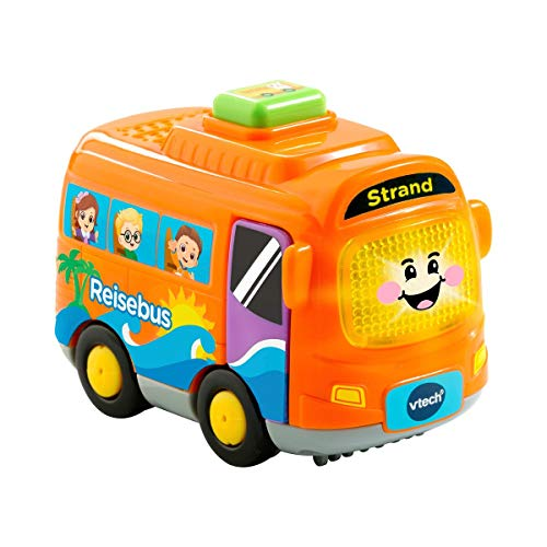 Vtech 80-516704 Tut Tut Baby Flitzer Reisebus Babyspielzeug, Mehrfarbig