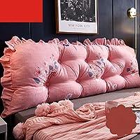 ベッドサイドクッション、ベッドソフトバッグ大背もたれ取り外し可能および洗えるソファロングピローソフトバッグトライアングルダブルウエスト背もたれ枕 (色 : C, サイズ さいず : 150CM)