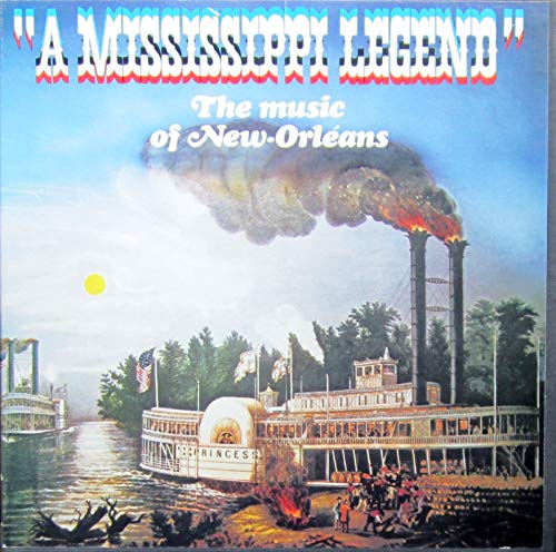 A MISSISSIPPI LEGEND - The Music of New Orleans [Vinyl Schallplatte] [3 LP Box-Set]