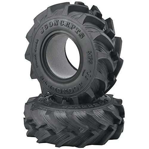J Concepts Inc. Fling King Tire Blue Compound Dragon 2.6 Wheel, JCO315501