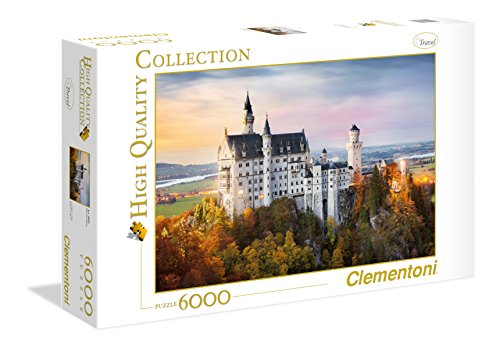 Clementoni –  Puzzle  T High Quality Collection Howard Robinson de Neuschwanstein, 6000 piezas (36522)