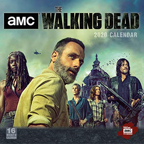 2020 AMC The Walking Dead 16-Month Wall Calendar