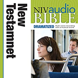 Dramatized Audio Bible - New International Version, NIV: New Testament audiobook cover art