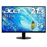 Acer IPSディスプレイ SA220QAbmi 21.5型ワイド IPS 非光沢 フルHD 4ms (GTG) 75Hz HDMI AMD FreeSync ZeroFrame