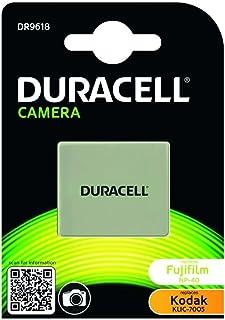 Duracell DR9618 - Batería para cámara Digital 3.7 V 650 mAh (reemplaza batería Original de Fujifilm NP-40)