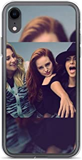 TEEMT Compatible with iPhone 7 Plus/8 Plus Case Riverdale Girls Betty Veronica Cheryl Archie Comics Pure Clear Phone Cases Cover