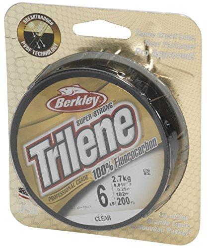 Trilene 100% Fluorocarbon Leader Angelschnur