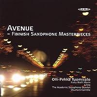 Avenue: Finnish Saxophone Masterpieces