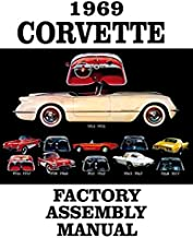 FULLY ILLUSTRATED 1969 CORVETTE FACTORY ASSEMBLY INSTRUCTION MANUAL - GUIDE - ALL MODELS Convertible, Hardtop 69