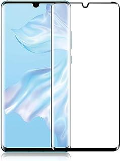 واقي شاشة لجهاز هواوي اونر بي 30 من الزجاج المقسى بحماية كاملة للشاشة المنحية ومضاد للصدمات بدرجة صلابة 9