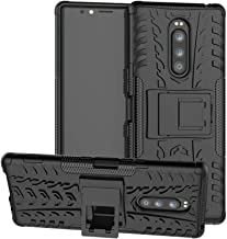 Sony Xperia 1 / Xperia XZ4 case,LiuShan Shockproof Heavy Duty Combo Hybrid Rugged Dual Layer Grip with Kickstand For Sony Xperia 1(6.5