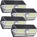 Luz Solar Exterior【Súper Brillante 4 Modos】con Sensor de Movimiento, LITOM Focos LED...