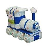 Windeltorte - Windellokomotive Windellok blau - Windelzug