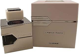 AL HARAMAIN L'aventure Blanche Eau de Parfum Spray for Men, 3.3 Ounce (for Creed Silver Mountain Water Lovers)