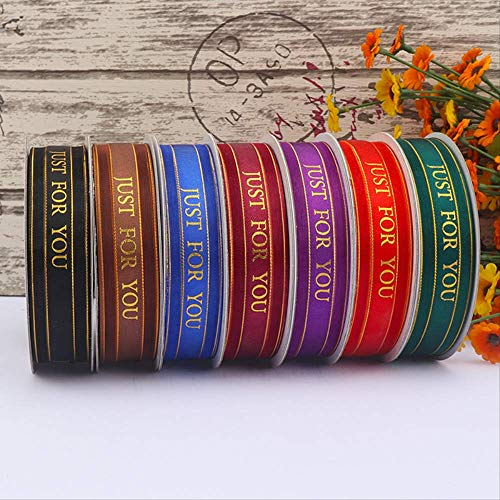 Lint Taart Lint Bruiloft Cadeau Bloemen Verpakking Lint Kant Gaas 6 Stks / 2,5 Cm * 45 M Willekeurige Kleur