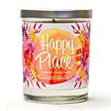 a bright candle for self care basket ideas