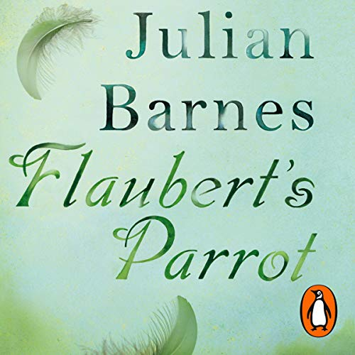 Flaubert's Parrot audiobook cover art