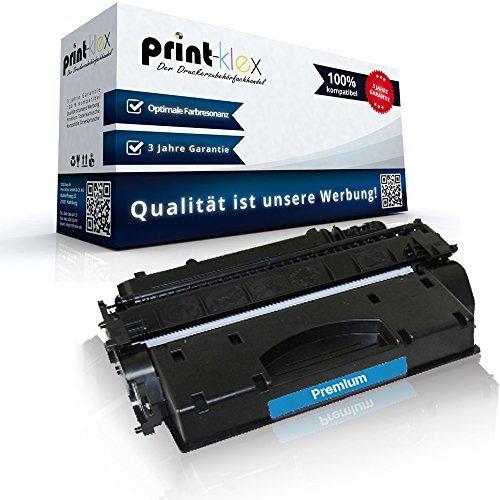 Print-Klex Kompatible Tonerkartusche für HP LaserJet P2055D LaserJet P2055DN LaserJet P2055DTN LaserJet P2055X LaserJet P2056D LaserJet P2056DN LaserJet P2056X CE505X HP05X HP-05X HP 05X Black Schwarz XXL