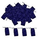 100pcs Einweg Tanga für Männer in Blau, Einzeln versiegelt, atmungsaktiv, mit Elastik - Für Haarentfernung, ästhetische Behandlungen, Massage - Blau
