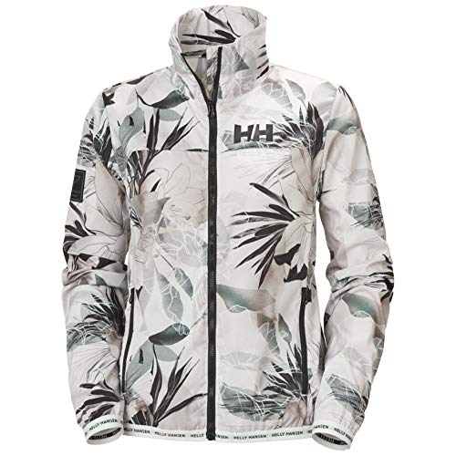 Helly Hansen Damen Hp Light Windbreaker Jacke, Cream Esra Print, M