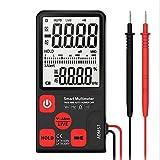 Multímetro Digital Profesional 6000 Cuentas con ACV Polimetro Auto Rango AC/DC Corriente Voltage True RMS, Tester Digital mide Amperímetro Temperatura Resistencia con 3.5in LCD Retroiluminada