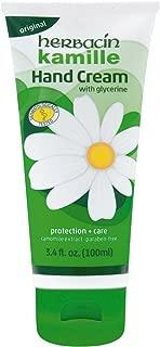 Herbacin Kamille with Glycerine Hand Cream 3.4 oz (Pack of 5)
