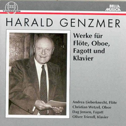 Genzmer: Works for Flute, Oboe, Bassoon and Piano
