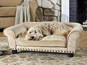 Canapé pour chien « Dreamcatcher I » 74 x 42 x 28 cm.assise: 48 x 28 x 8 cm. oreiller: 30 x 10 cm