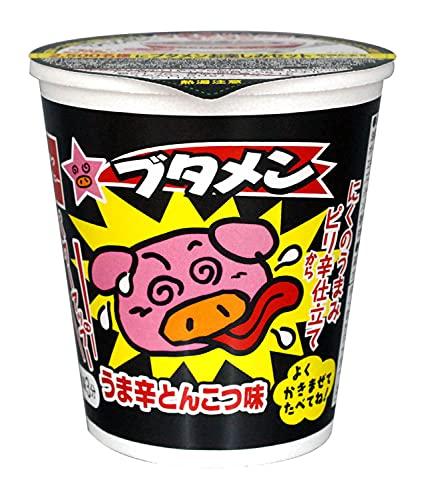 おやつカンパニー カップブタメンうま辛とんこつ味 37g ×15個