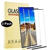 Lixuve 2 Piezas Samsung Galaxy Note 10 Plus Protector Pantalla de Vidrio Templado, Cobertura Toda HD Cristal Templado, Anti-Huella, 9H Dureza, Sin Burbujas, Alta Sensibilidad 3D Touch