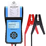 TT TOPDON AB 201 TOPDON AB201 Analyzer 12V/24V 100-2000 CCA with Cranking/Charging Tests, Data Printing/Export/Review Functions for DIYers and Garages Battery Load Tester –Black and Blue
