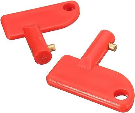 mingtongli Interruptor de aleaci/ón de Zinc de la bater/ía del Coche Auto Terminal de la bater/ía Link Power Accesorios Desconectar