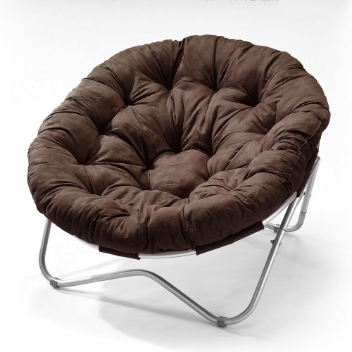 Big Sale Directions East Oval Chair with Cocoa Microfiber