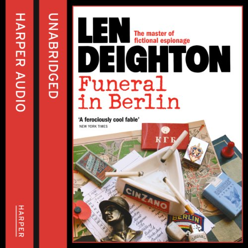 Funeral in Berlin                   By:                                                                                                                                 Len Deighton                               Narrated by:                                                                                                                                 James Lailey                      Length: 9 hrs and 50 mins     74 ratings     Overall 4.4