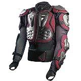 フルプロテクションジャケット 夏 背中・胸・ヒジ・腕・肩・腰の6点ガード ハンドゲーター 上半身プロテクター メッシュ構造で通気性UP