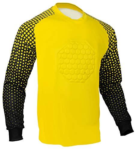 Total Soccer Factory Fußball Torwart Shirt, gelb