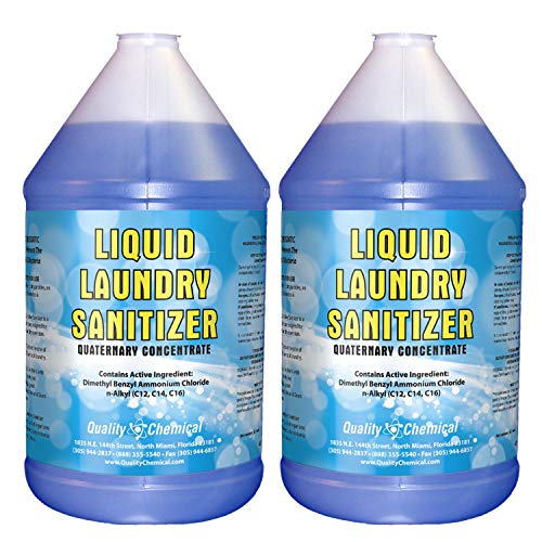 Laundry Sanitizer- for Commercial or Household use-2 Gallon case
