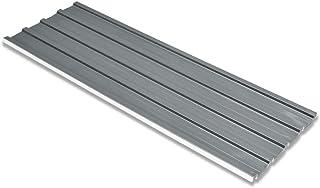 vidaXL 12x Paneles de Tejado de Acero Galvanizado Gris