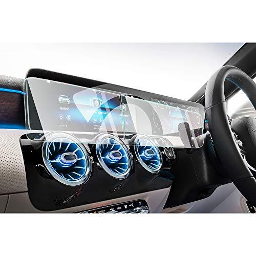 CDEFG para Benz GLA GLB 2020 Protector de Pantalla de Vidrio Templado, 10,25 pulgadas HD Auto 9H GPS Navi película protegida Glass
