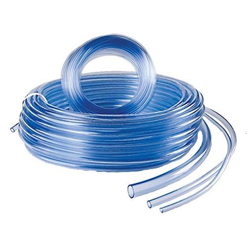 SIBO Meterware Klarer PVC Schlauch, Lebensmittelechter Luftschlauch Ø 4 bis 25mm, Schlauch Ø:Ø 25x31 mm