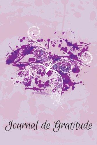 Journal de Gratitude Papillon - Un Carnet de Notes d'Inspiration Pour Elle