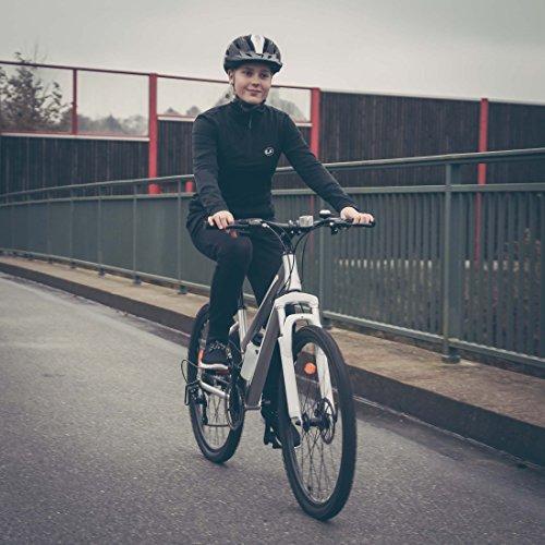 Ultrasport Hardtail Mountainbike 26 Zoll, 21-Gang Shimano-Kettenschaltung, Federgabel, mechanische Scheibenbremsen, A-Head Vorbau, inkl. Trinkflasche - 4