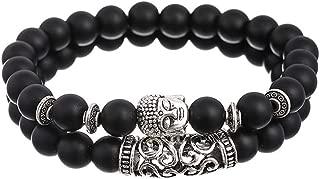 black healing stone bracelet