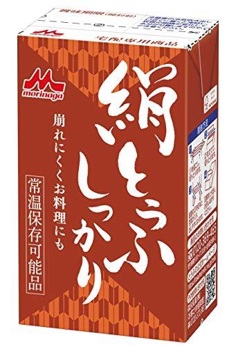森永乳業 常温しっかり絹とうふ253g×12個