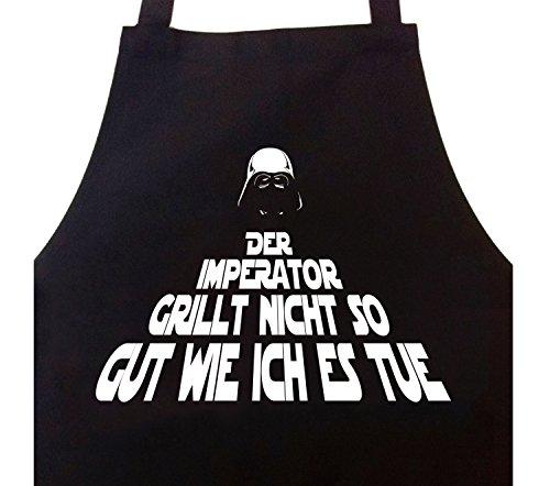 STAR WURST Grillschürze Kochschürze der Imperator Grillt Nicht so gut Wie Ich es Tue