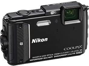 Nikon Coolpix AW130 Shock & Waterproof GPS Digital Camera (Black) - International Version