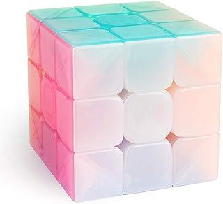 Ydq Ensemble Speed Cube, 3x3x3 Vitesse Cube De Magique; Autocollant Spin Lisse Super Durable avec des Couleurs Vives pour;...