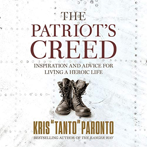 The Patriot's Creed audiobook cover art