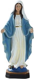 simhoa 1pc Blessed Saint Virgin Mary Statue Wedding Gift Christmas Tabletop Decor