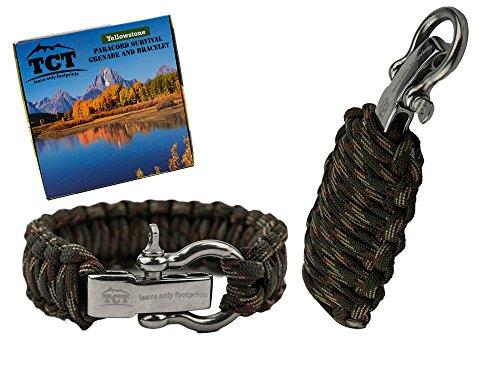 Set Granata Paracord E Braccialetto Paracord By The...